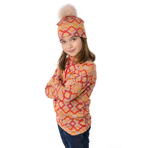Half-zip sweater - Daphnée...