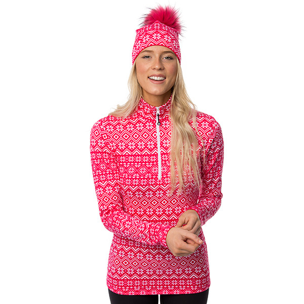 Half-zip sweater - Oslo -...