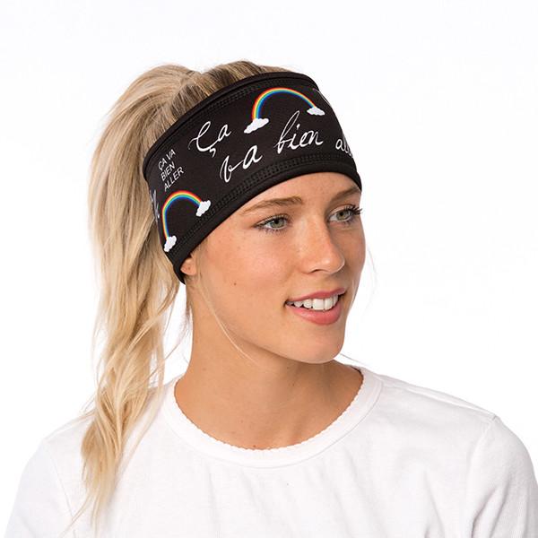 Lined headband - Ça va bien...