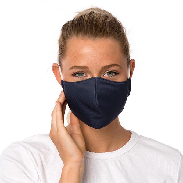 Mask - Plain/Midnight blue