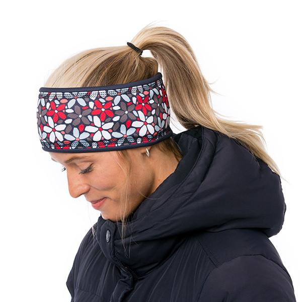 Lined headband - Clara -...