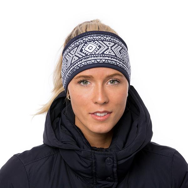 Lined headband - Tribal -...