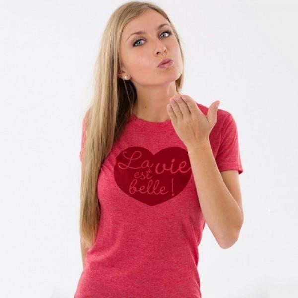 T-shirt - La vie est belle...