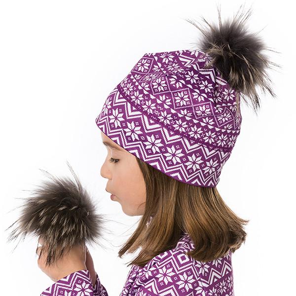 Toque - Oslo - Purple-white...