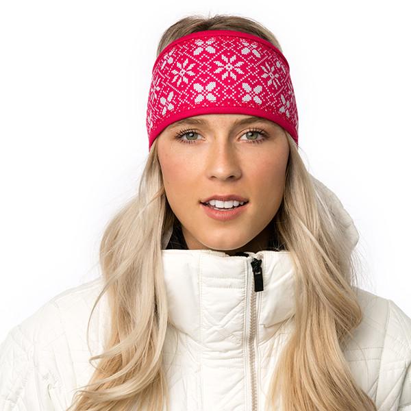 Lined headband - Edelweiss...