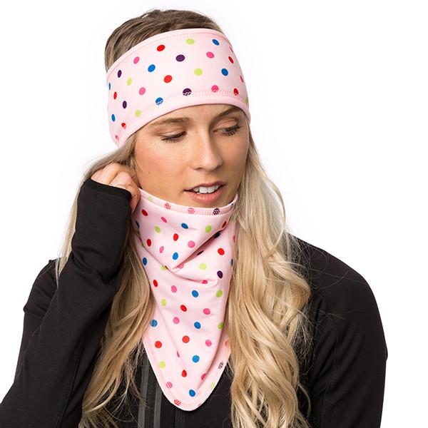 Lined headband - Confetti -...