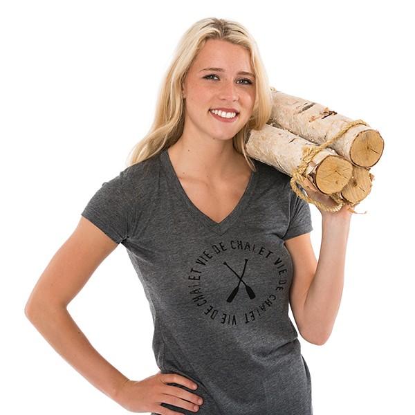 T-shirt - Vie de chalet -...