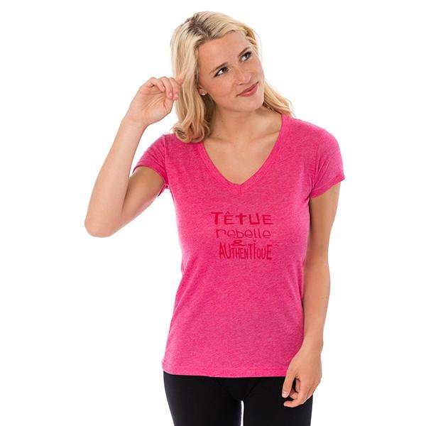 T-shirt - Têtue rebelle et...