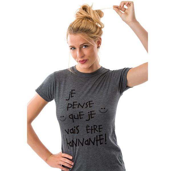T-shirt - Je pense que je...