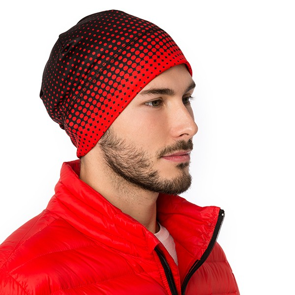 Beanie - Strategic - Black/Red