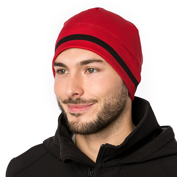 Tuque - Uno - Rouge corsé/Noir