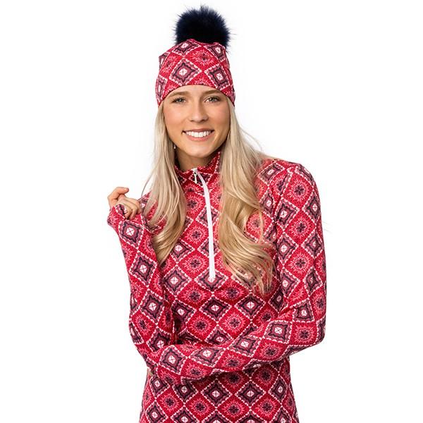 Half-zip sweater - Kayla -...