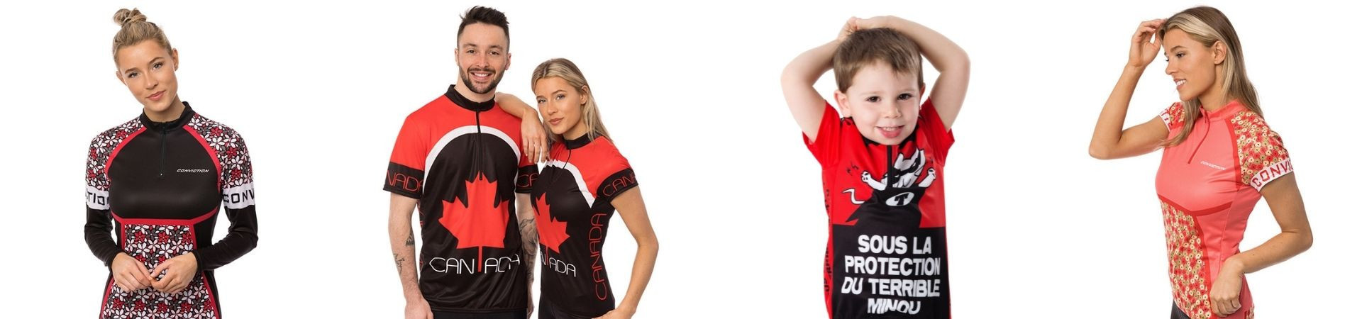 Unique and comfortable cycling jerseys for women, men and kids