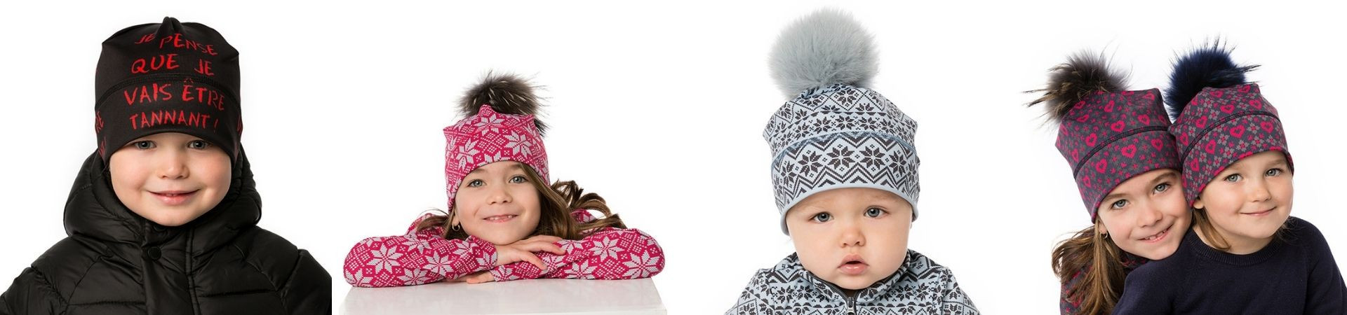 Toques and beanies for kids – Durable quality fabric