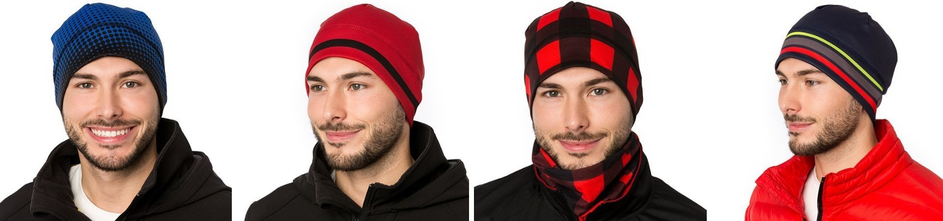 Athletic beanies for men – Durable quality fabric