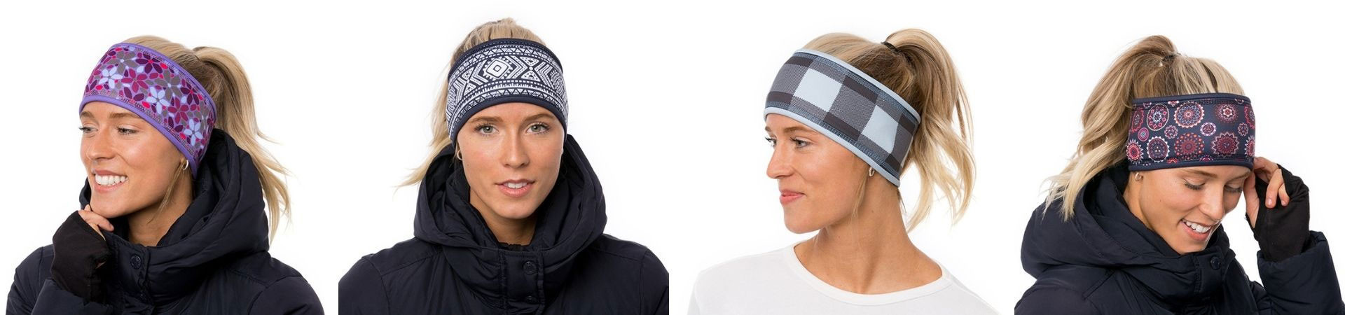 Headbands lined with polar