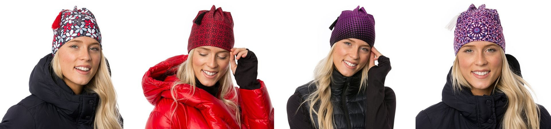 Discover our tassel toque with polar fleece headband.