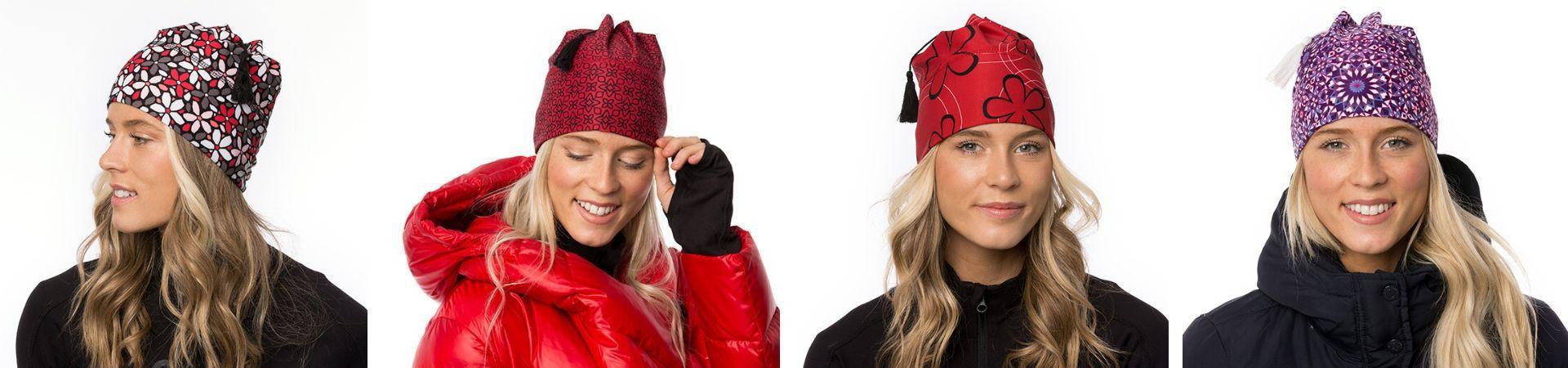 Découvrez nos tuques à gland doublées de polar aux oreilles.